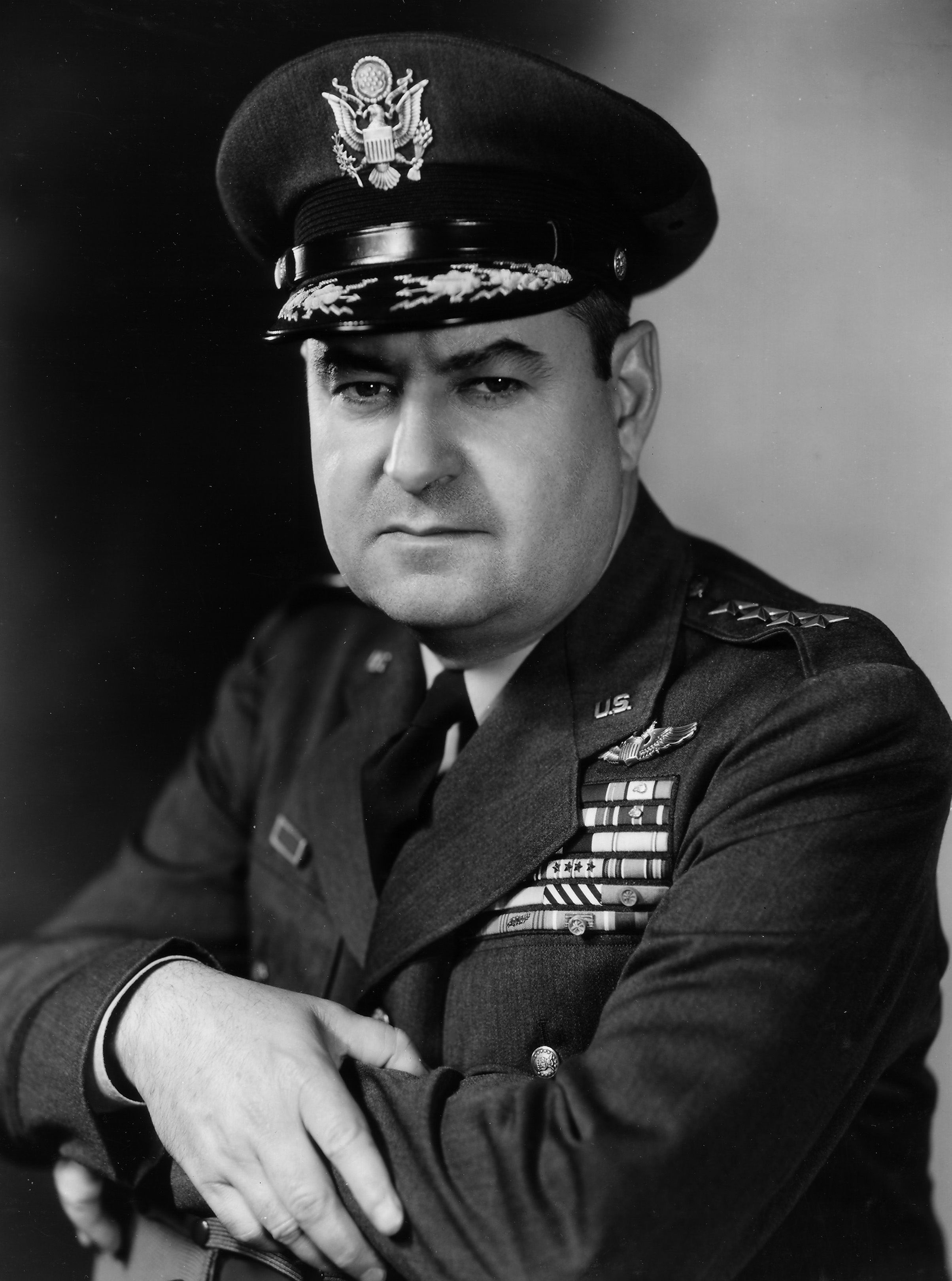 Curtis Lemay ** Commanding General/ XXI Bomber Command; in