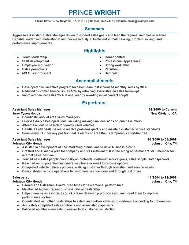 Automotive Quality Manager Resume  SpecialistS Opinion