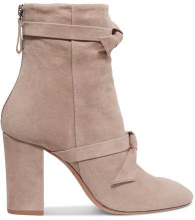The Most Popular Alexandre Birman Lorraine Ankle Boot Pink For Women Online Sale