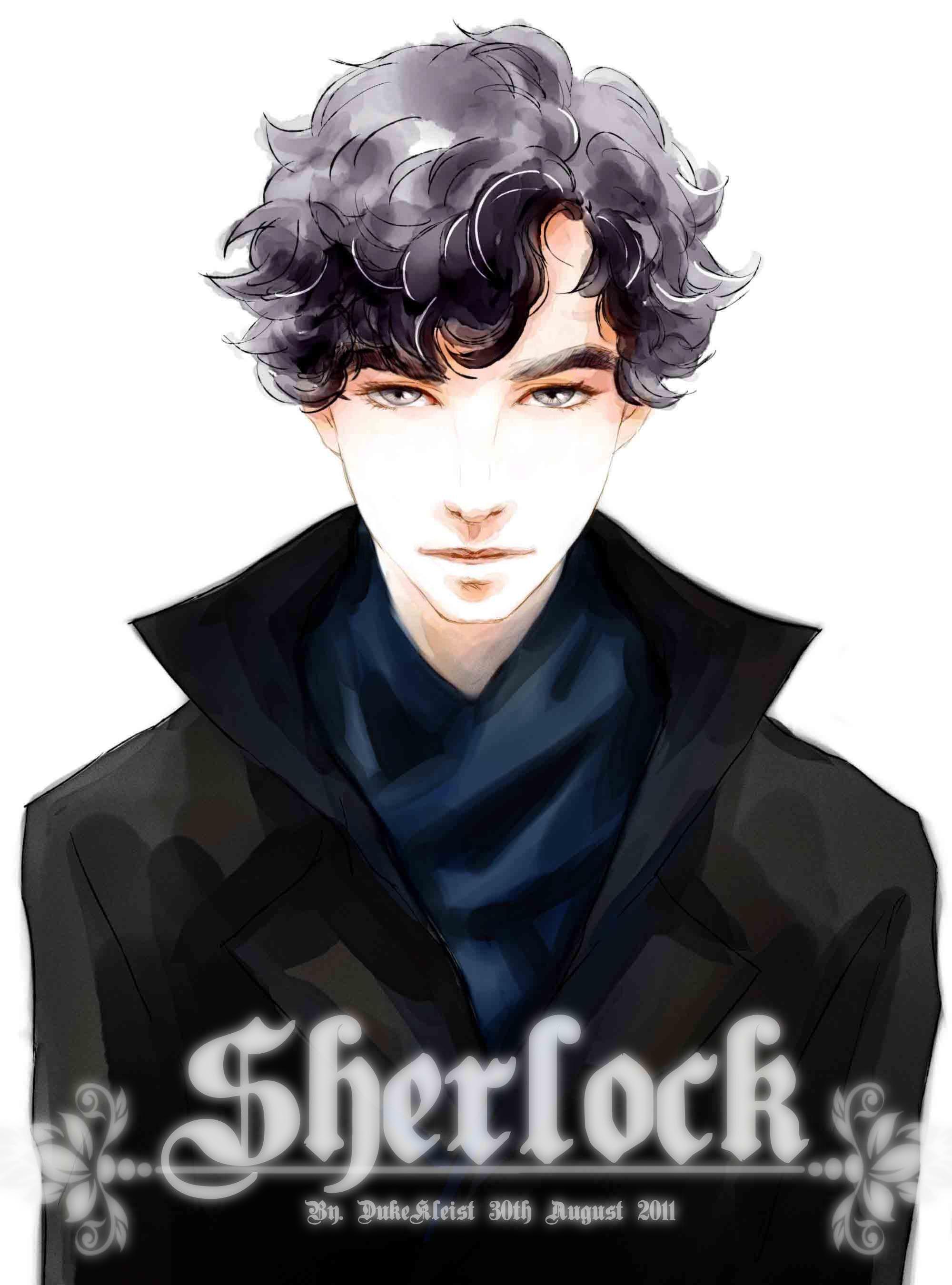 Sherlock Holmes Character 1140533 Zerochan Fan Art Sherlok