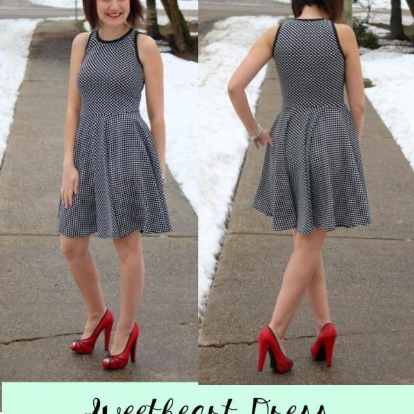 Sweetheart Dress Sewing Dresses For Women Sweetheart Dress