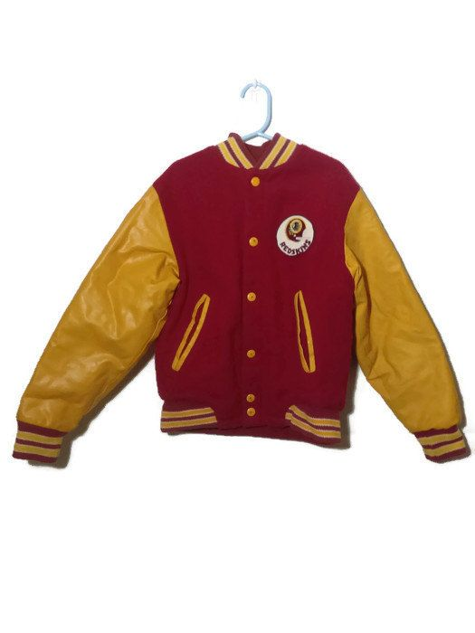 new styles 4a0e2 46337 Vintage Washington REDSKINS, Youth Boys, NFL Jacket, Varsity ...