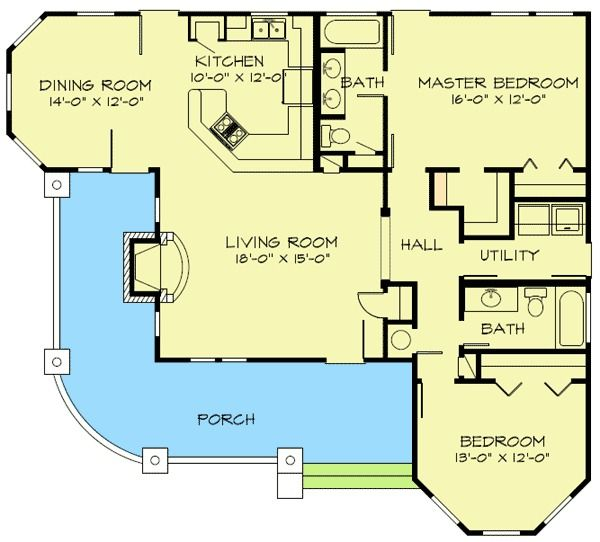 Hill Country Home Plans plan 46001hc: fully-appointed hill country home plan | house plans