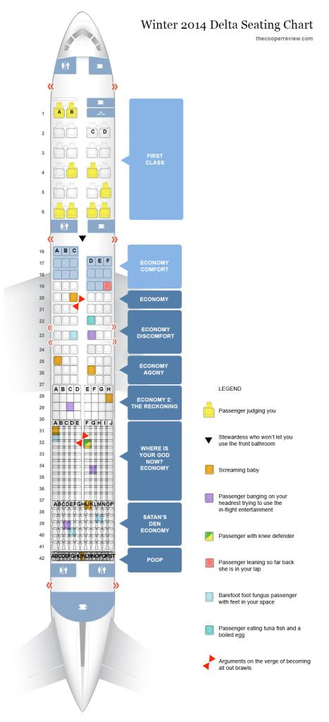 Delta S New Airplane Seating Chart Travel Humor Seating Charts Seating Plan