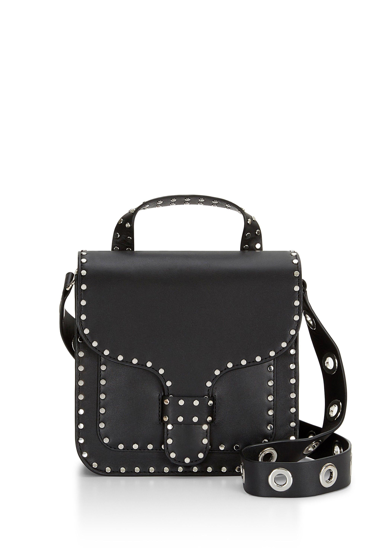 e4c7ecf26de REBECCA MINKOFF Midnighter Top Handle Feed Bag.  rebeccaminkoff  bags   shoulder bags  hand bags  leather