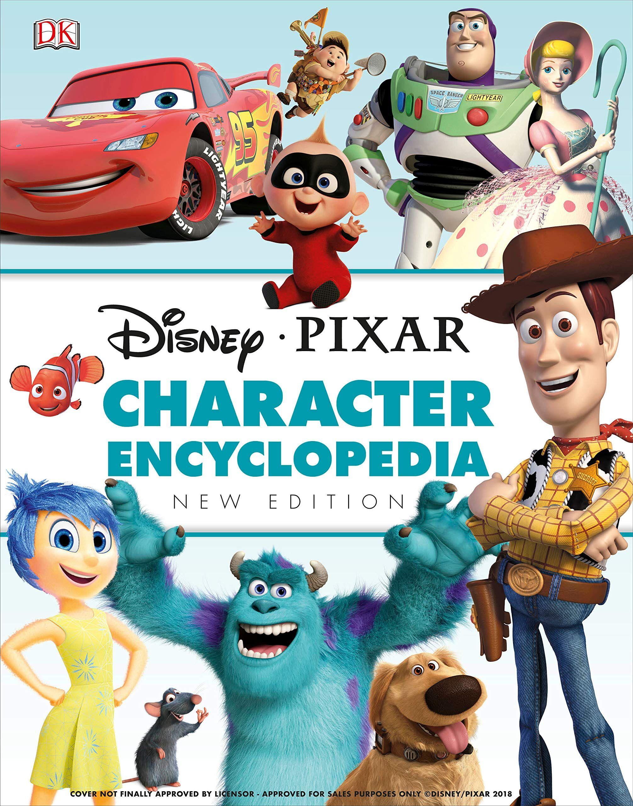 Disney pixar character encyclopedia new edition hardcover