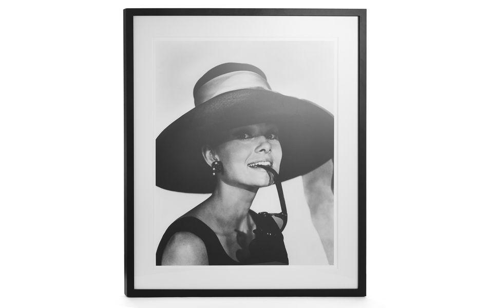 Audrey Hepburn Framed Print at Laura Ashley | Furniture | Pinterest ...