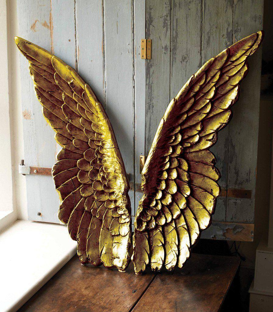 large decorative angel wings silver or gold angel wings pinterest engel fl gel und. Black Bedroom Furniture Sets. Home Design Ideas