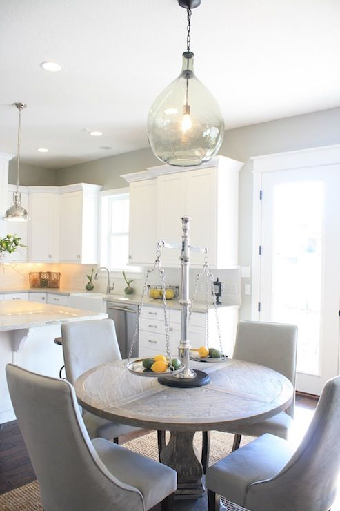 The Warrior Diet Pinterest Gray Dining Chairs Round Pedestal - Round pedestal dining table gray