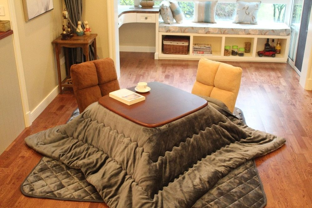 2pcs/set) FU21 Square Kotatsu Futon Top & Bottom Set ...