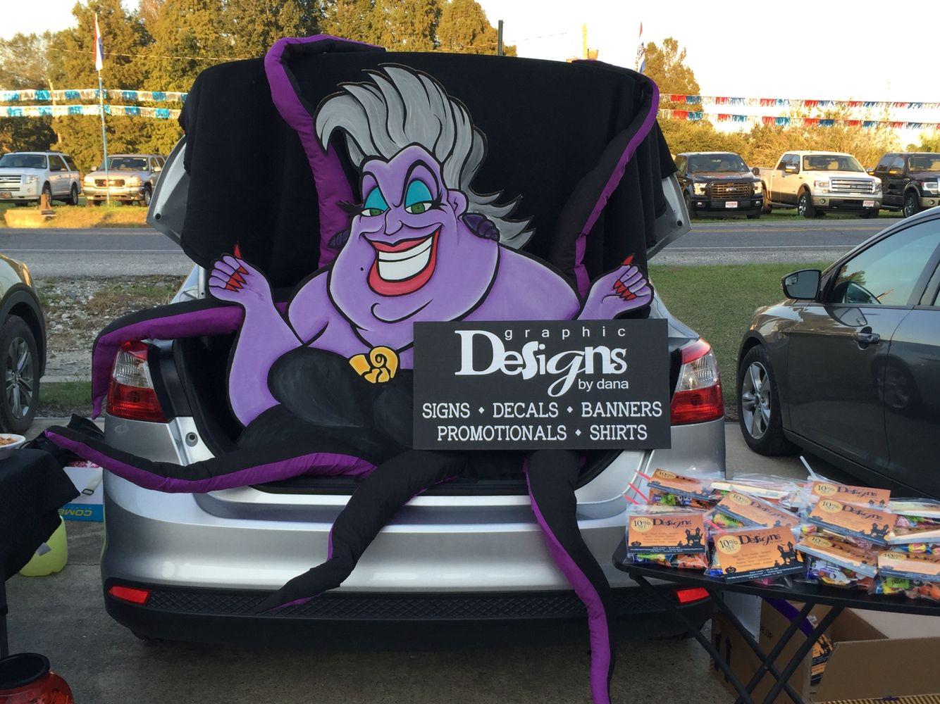 Disney Villain Trunk or Treat disneyvillain trunkortreat