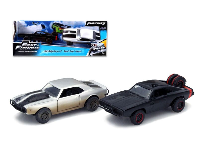 Details About Fast Furious 7 Movie Set Of 2 1 32 Diecast Cars By