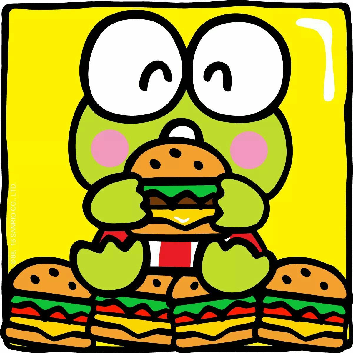 Keroppi Sure Does Have A Big Appetite Today It S National