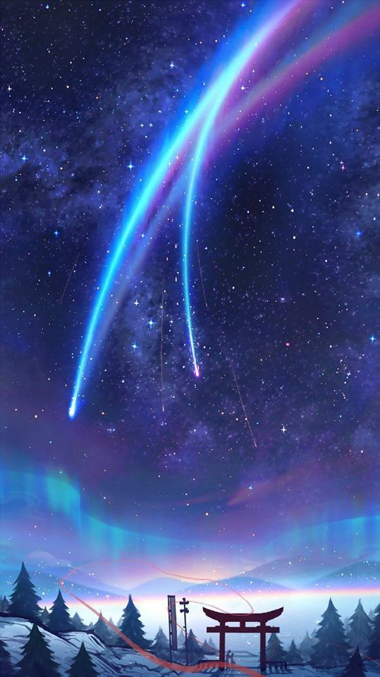 Pin By Star Night On Anime Movie Your Name In 2019 Kimi No
