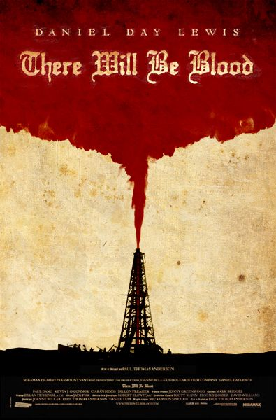 Image result for there will be blood movie poster