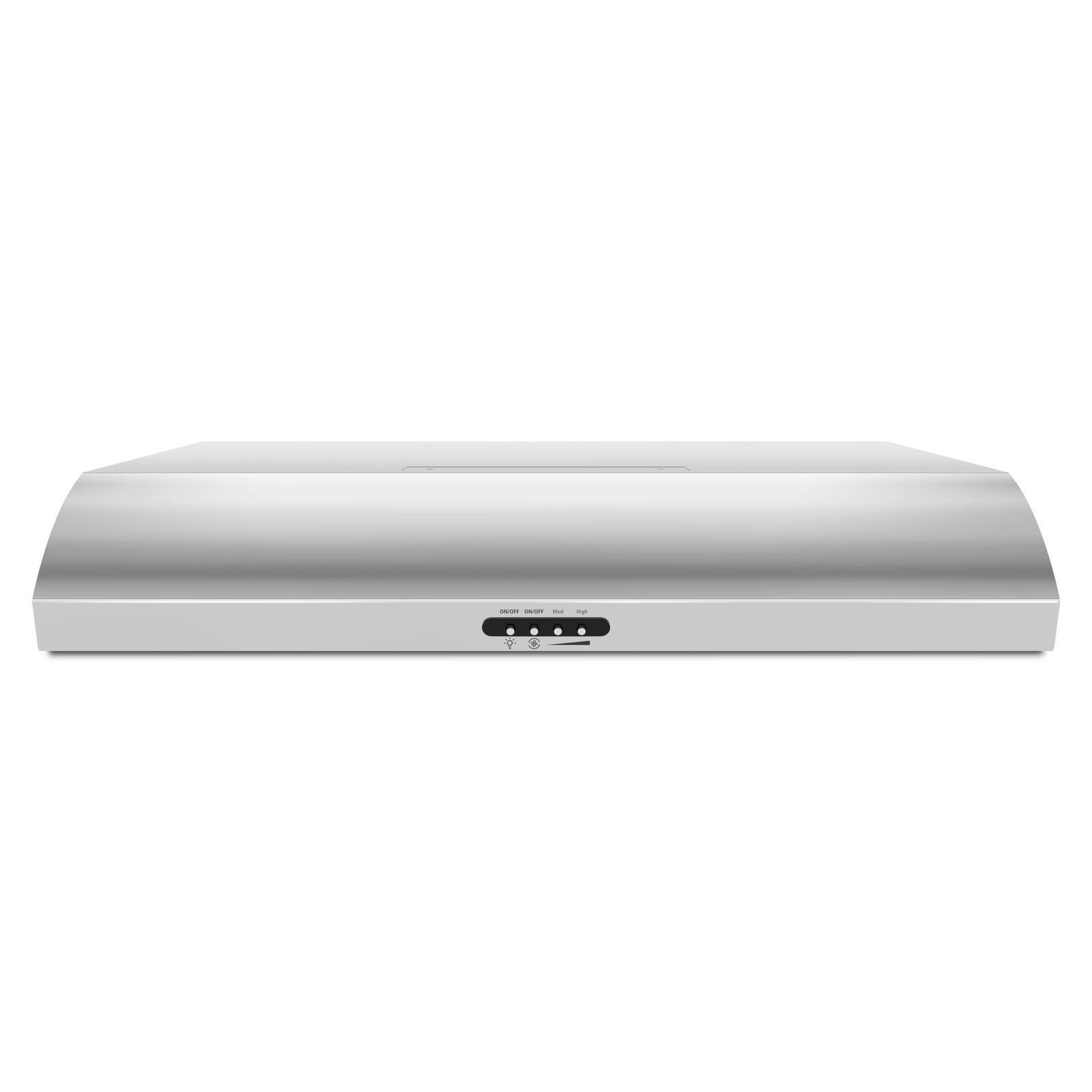 """36"""" Range Hood with the FIT System Whirlpool Inside Pass"""