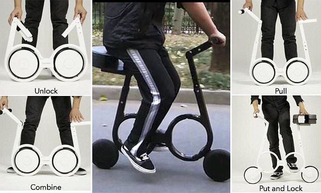 The Impossible electric bike that folds to fit in a BAG ...
