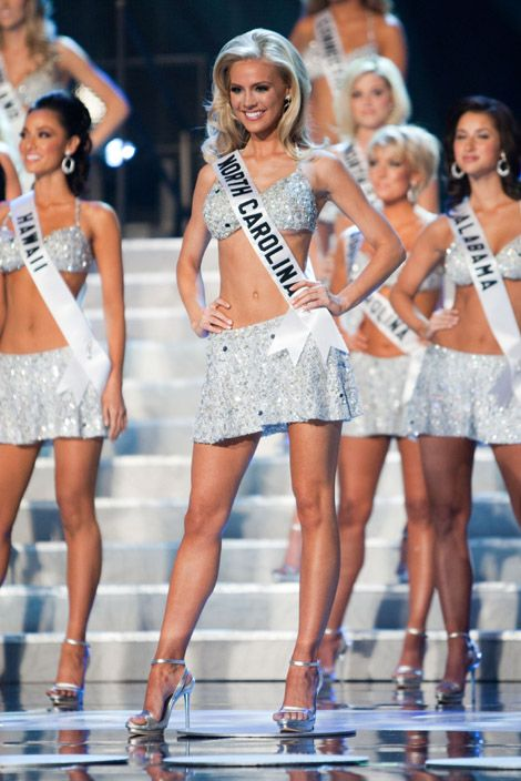 Miss USA Kristen Dalton Tries To Become Miss Universe 2009 (Hot ...