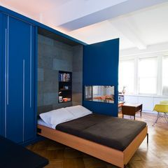 400 Sq Ft, Unfolding Apartment U2013 A Tiny Transforming Apartment In Manhattan  Michael K Chen Architecture   New York   Murphy Bed   Humble Homes