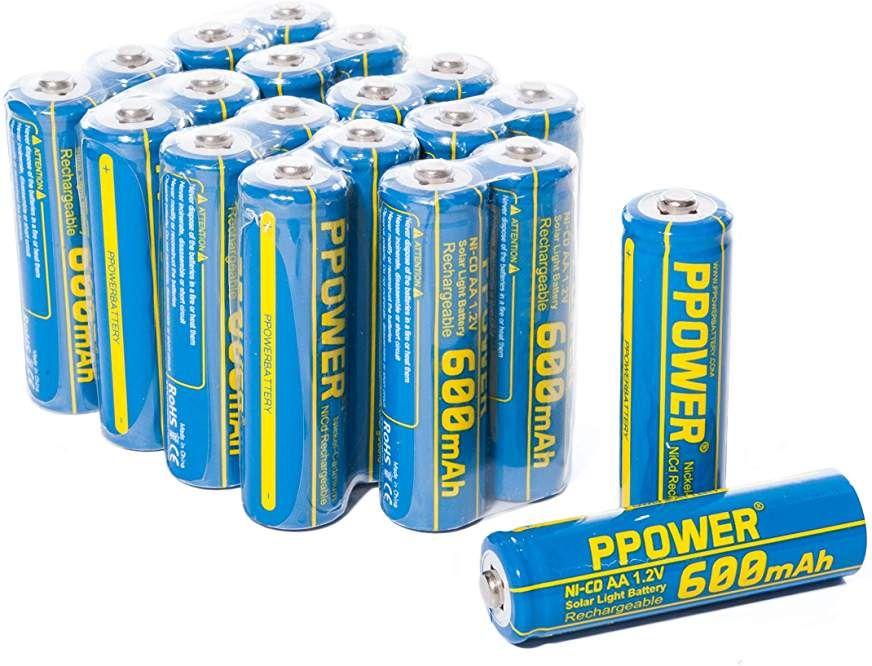 Aaa Solar Batteries For Solar Lights