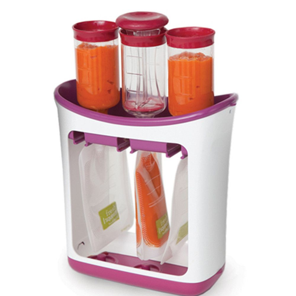 Infantino Squeeze Station Make your own baby food purees and store them in these fantastic pouches. Fill 'em Freeze 'em Thaw 'em Eat 'em