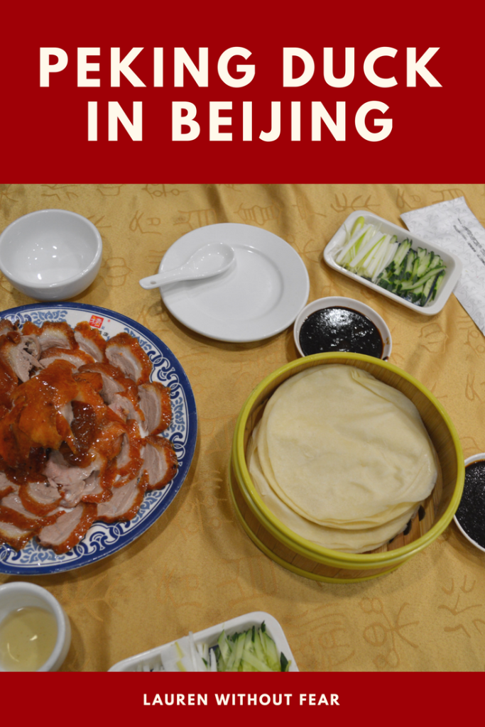 Eating Peking Duck In Beijing A Delicious Awkward Dining Experience Chinese Dishes China Food Food