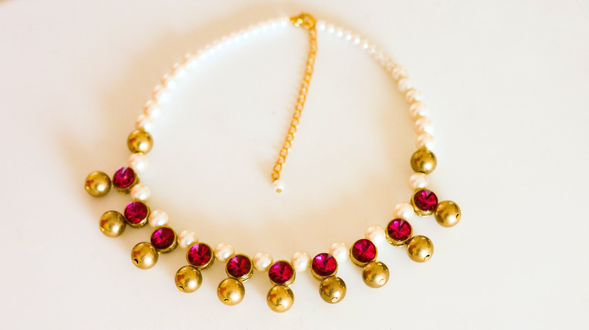 and pin to diy necklace fast easy how make