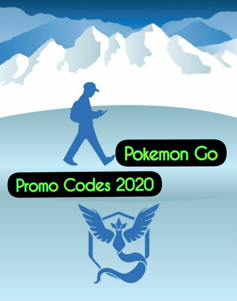 Pokemon Go Promo Codes In 2020 Pokemon Go Pokemon Code Pokemon