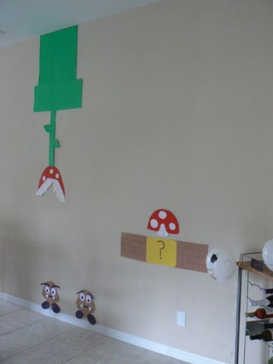 """Photo 27 of 39: Super Mario Brothers / Birthday """"Super Mario Bash """"   Catch My Party"""