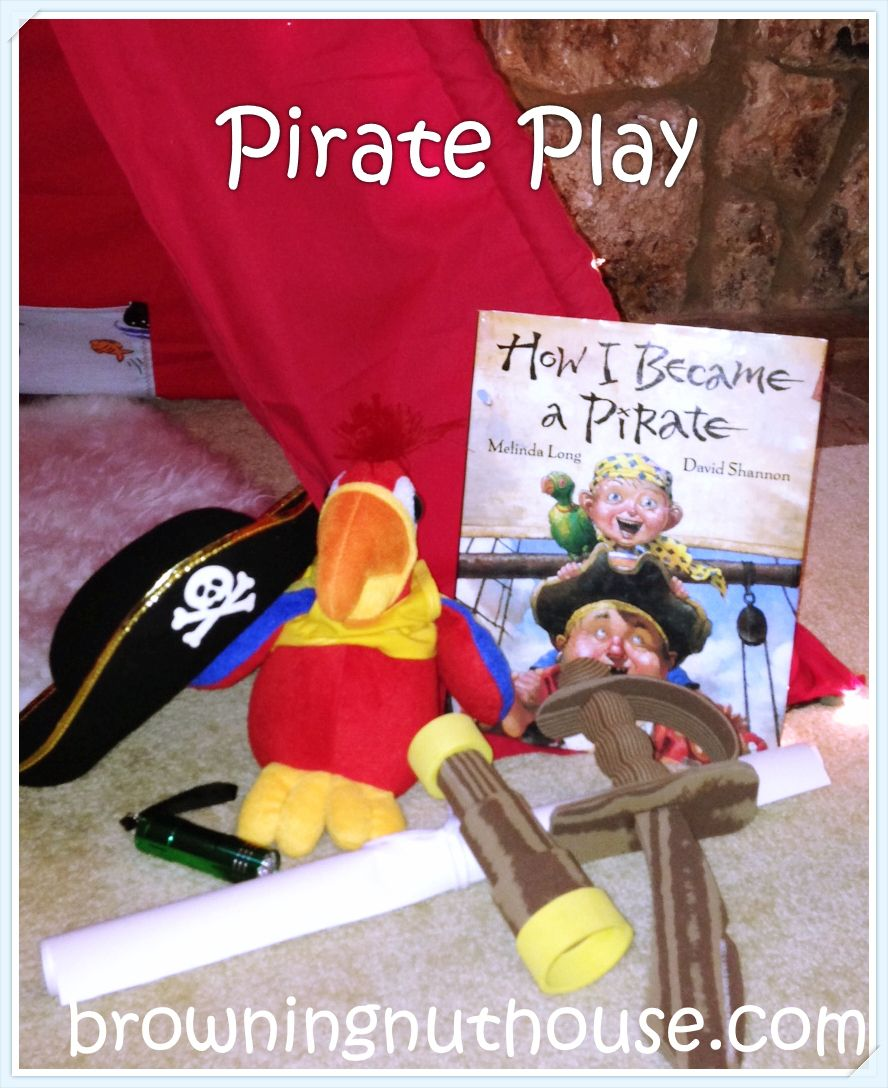 Pirate Play inspired by How I Became a Pirate