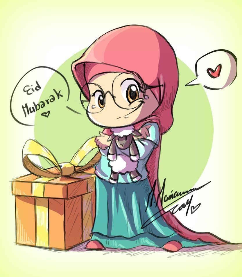 Madimar M Mariam Deviantart Kartun Animasi Islam
