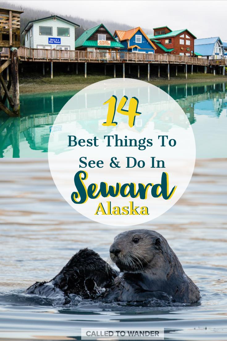 Seward Is Situated On Resurrection Bay Along The Eastern Coast Of The Kenai Peninsula As It Is Surround Seward Alaska Alaska Travel Kenai Fjords National Park