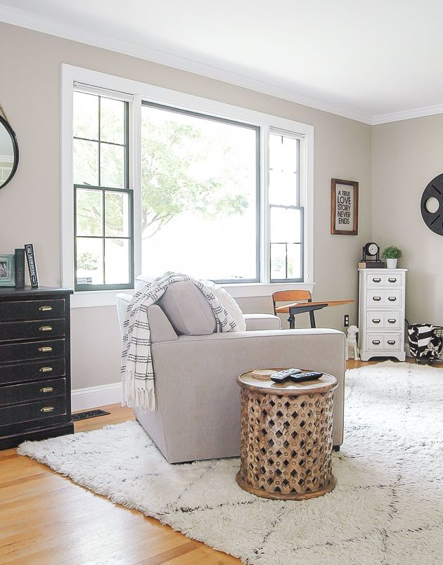Photo of Living Room Update: 3 Reasons to Paint Your Windows Dark