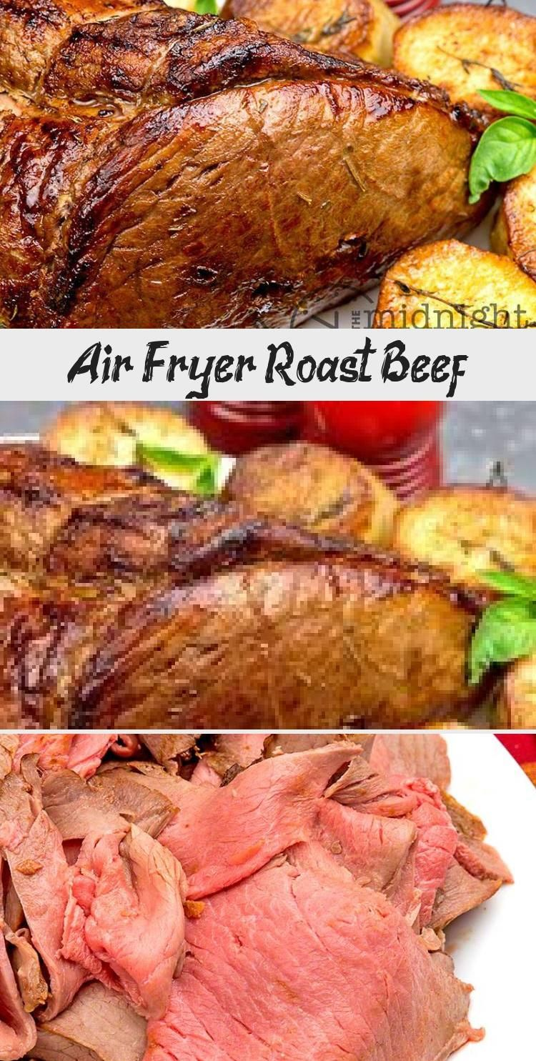 Air Fryer Roast Beef The Midnight Baker airfryer beef