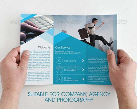 20 BEST PREMIUM BROCHURE TEMPLATES Graphics Pinterest - microsoft tri fold brochure template free