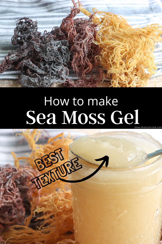 How To Make Sea Moss Gel Easily Video Divas Can Cook Recipe Sea Moss Divas Can Cook Natural Beauty Recipes