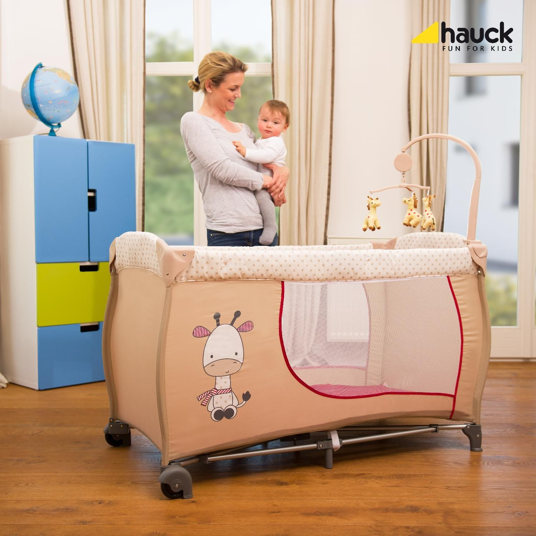 4f1d7741fdf Hauck Παρκοκρέβατο Baby Center Giraffe | Hauck Fun For Kids Greece ...