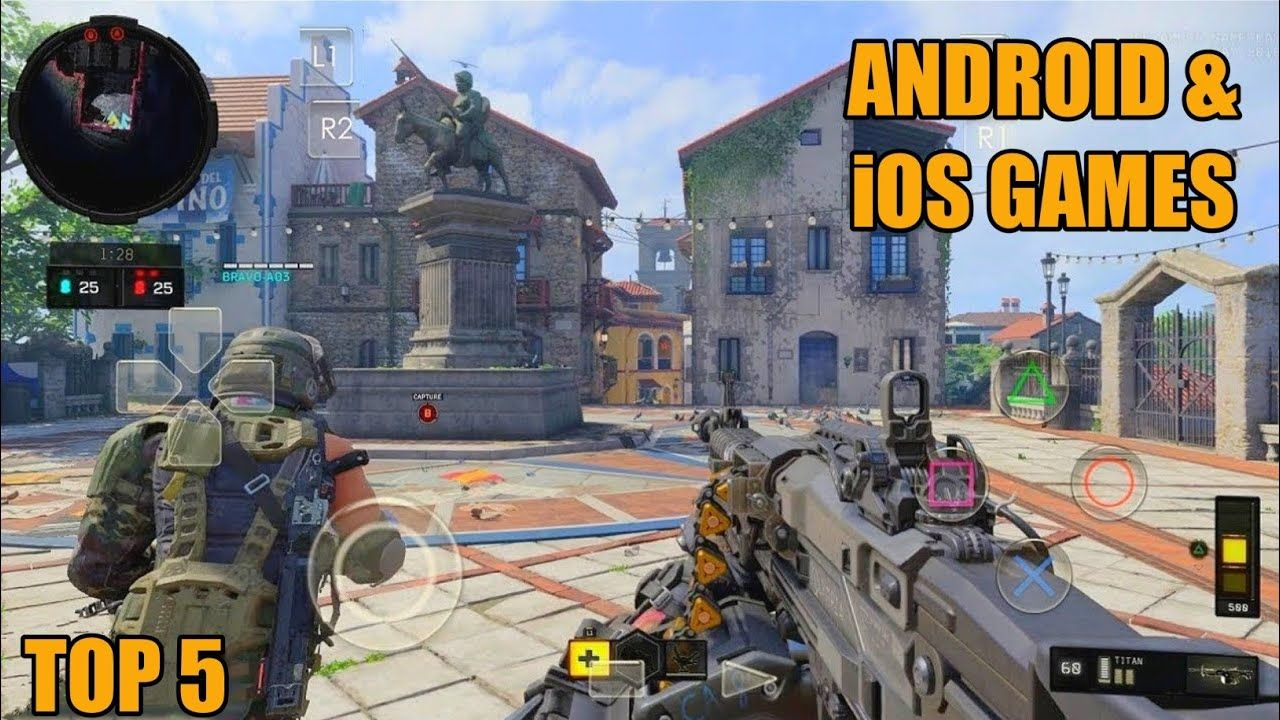 TOP 5 FPS GAMES FOR ANDROID & iOS 2020 in 2020 Fps games