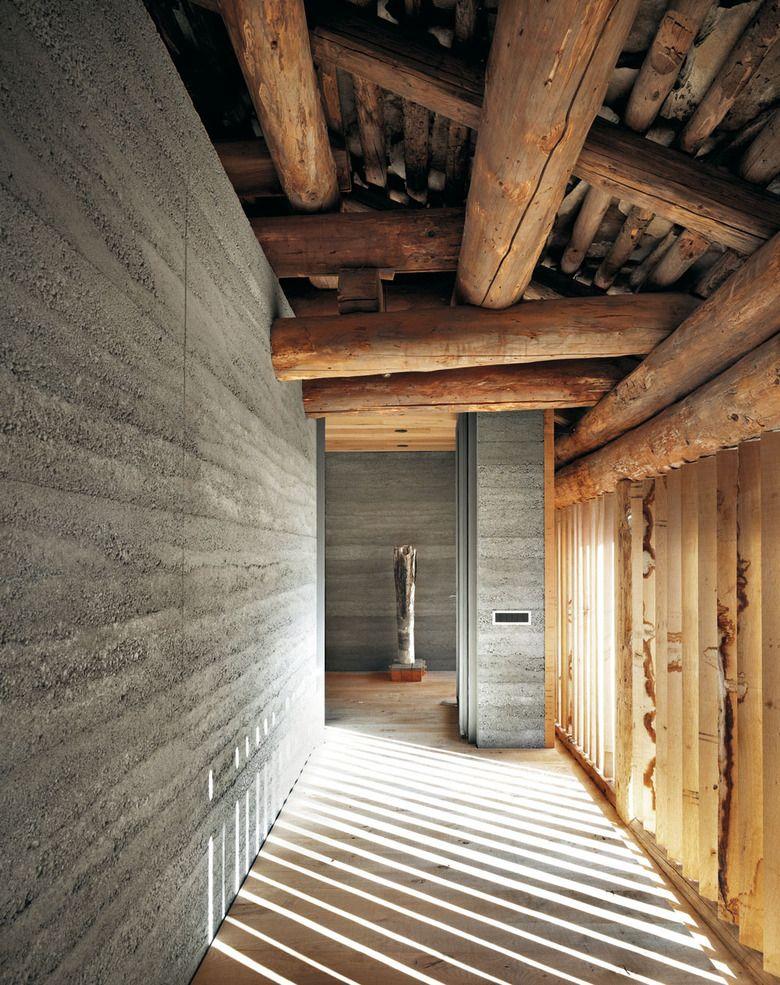 Wohnhaus in soglio altholz studium und wohnideen for Innenarchitektur studium ausland