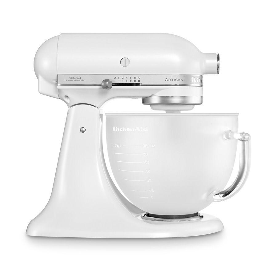 Küchenmaschine Artisan 4,8 l frosted pearl 5 tlg.   Mein Heim ...