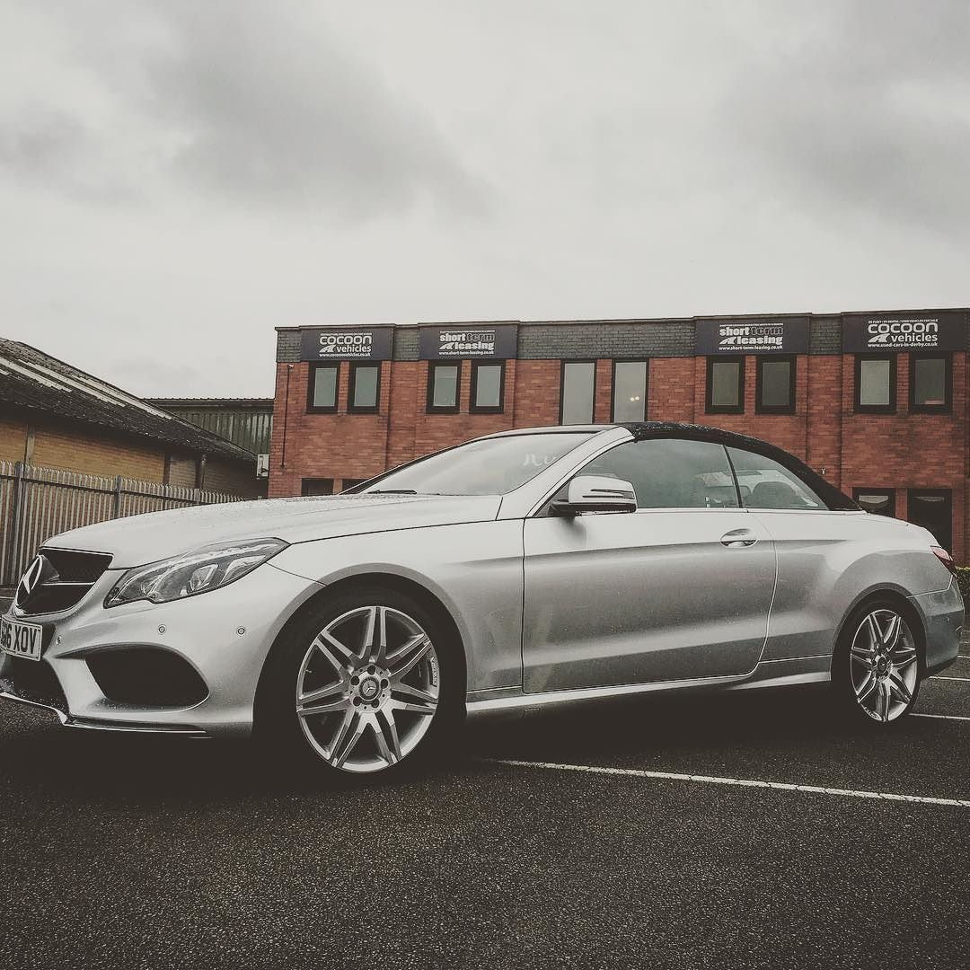 Cocoon vehicles on instagram mercedes e class cabriolet