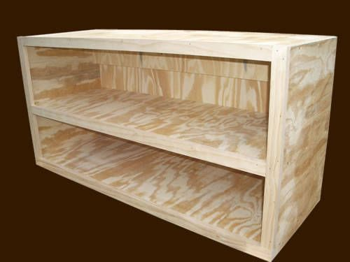 Merveilleux Learn Step By Step How To Build Cabinets For Your Kitchen, Bathroom, Utility  Room Or Garage With These Free Woodworking Plans.: How To Build Cabinets