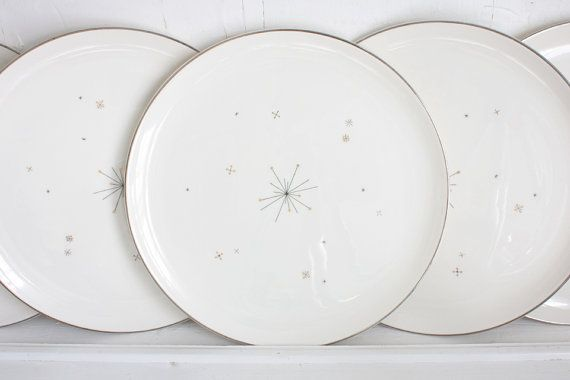 Vintage Syracuse China Evening Star Dinner Plates 5 Available Classic Mid Century Star Burst Pattern from the Fifties  sc 1 st  Pinterest & Vintage Syracuse China Evening Star Dinner Plates: 5 Available ...