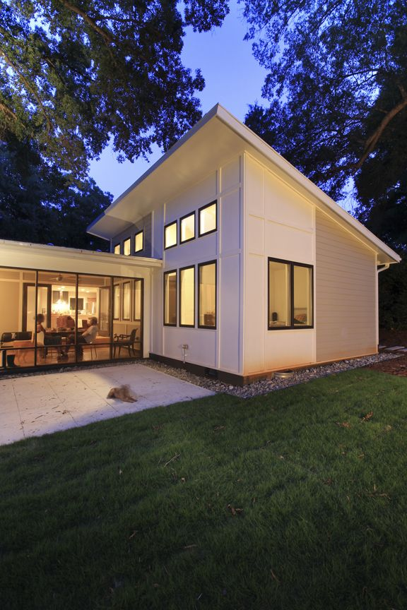 Small Mid Century Modern Homes | ... home! | Modern Charlotte, NC ...
