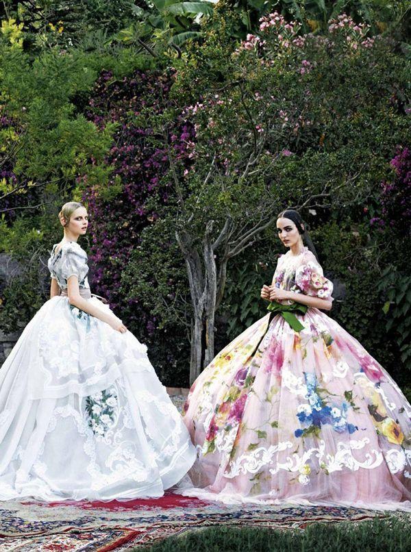 Dolce & Gabbana alta moda in Taormina