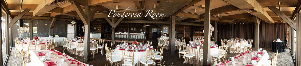 Ponderosa Room At Pomona Valley Mining Company Rustic Wedding Set Up Country Style