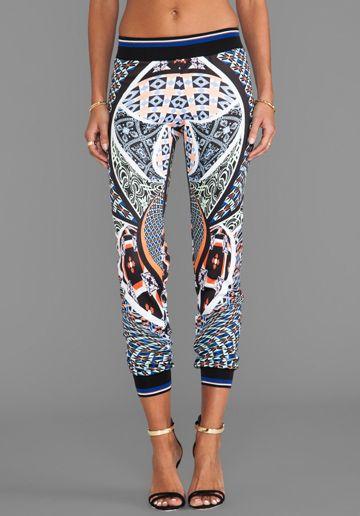 Clover Canyon Cuban Tile Pants In Multi Please Go On Sale Pants - Cuban tile for sale