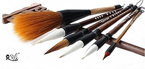 4pcs Chinese Caligraphy Painting BrushesFor Artist Watercolor Drawing Painting