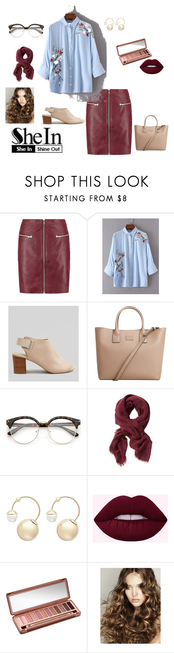 """""""day out"""" by jbillington ❤ liked on Polyvore featuring New Look, MANGO, Banana Republic, Witchery, Urban Decay, floral and floralprint"""