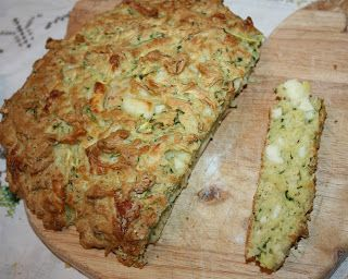 Courgette & Halloumi Soda Bread
